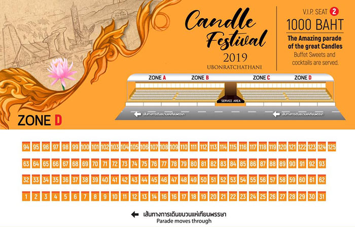 candle stand vip 2019
